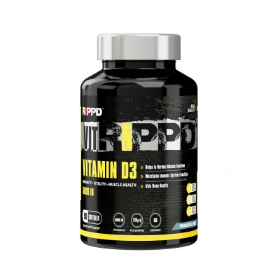 RIPPD VitRippd Vitamin D3 90 Softgels